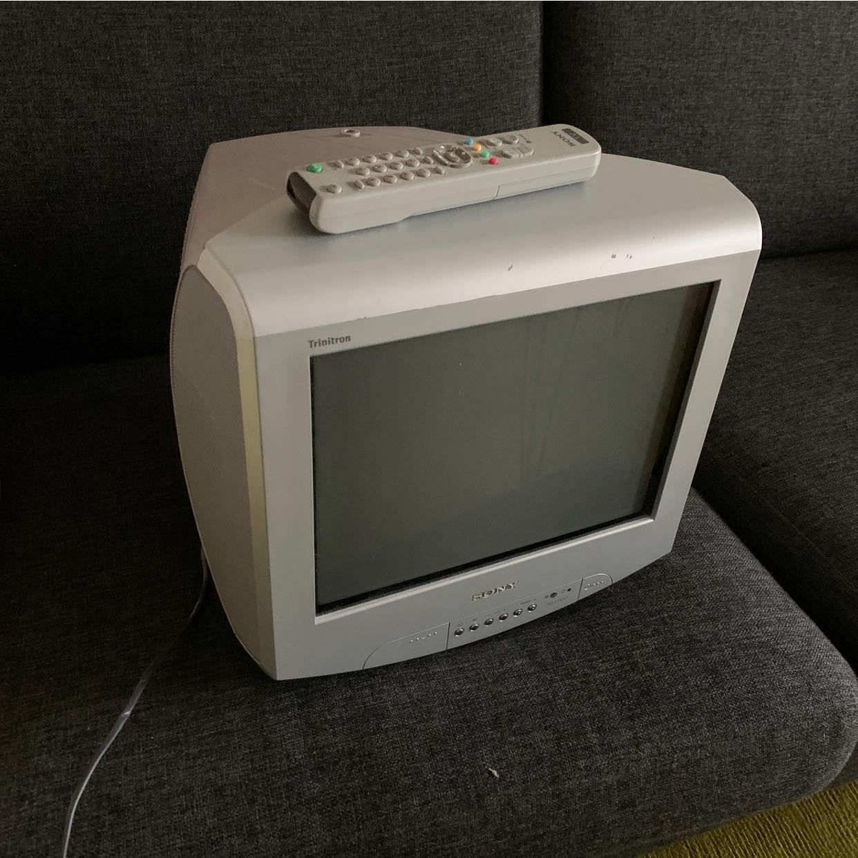image of Tv typ tjock Tv, Sony - Solna