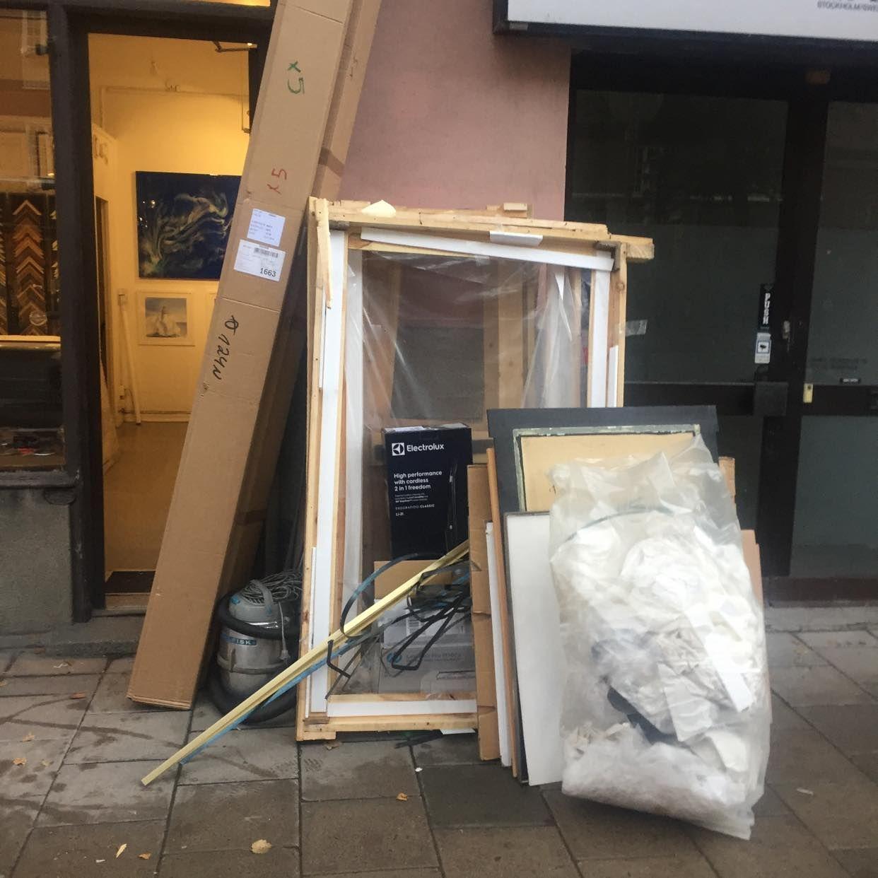 image of Blandat avfall - Stockholms Stad