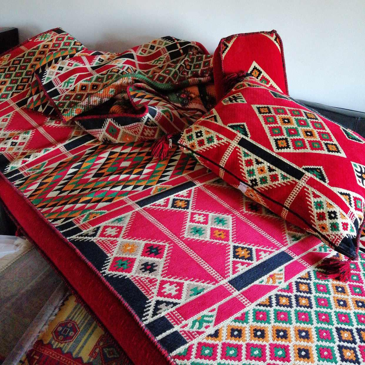 image of Turkiskt matta bortskänke - Kista