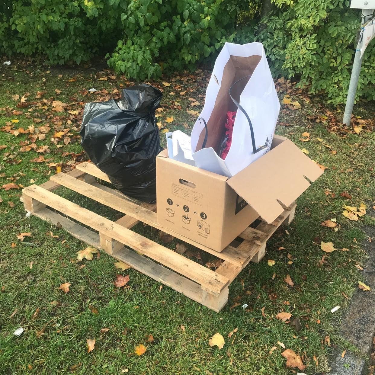 image of Skräp till återvinning - Stockholms Stad