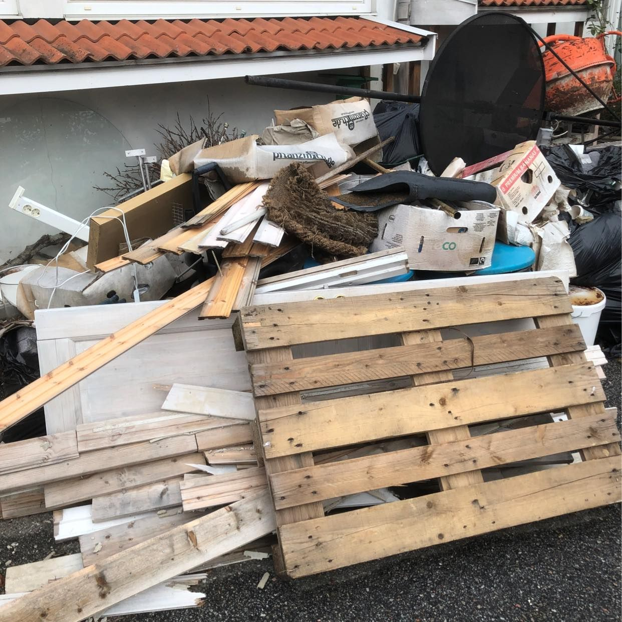 image of Blandat avfall - Sollentuna