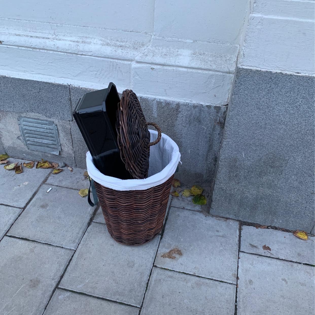 image of Laundry basket - Stockholm