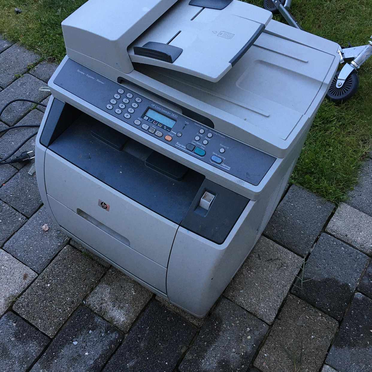 image of HP färglaser-skrivare 3-1 - Södertälje