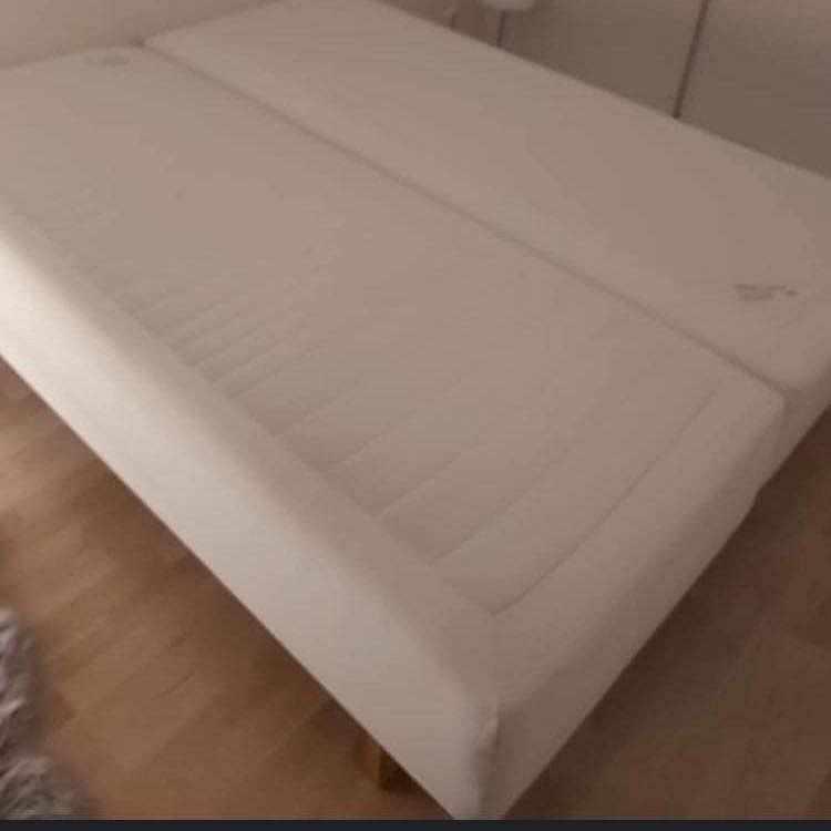 image of Två ikea sängar 80 cm x 2 -