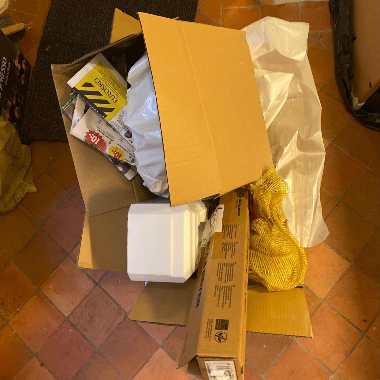 image of Kartonger/emballage - Stockholm