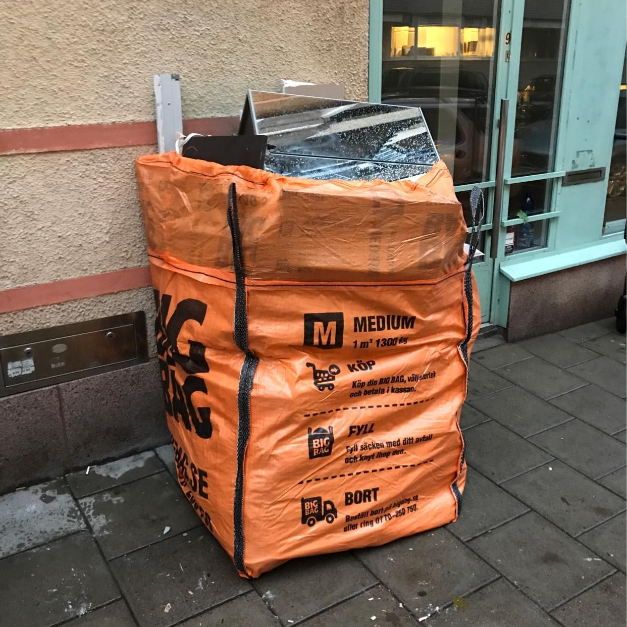 image of 1 bigbag  blandad - Stockholm