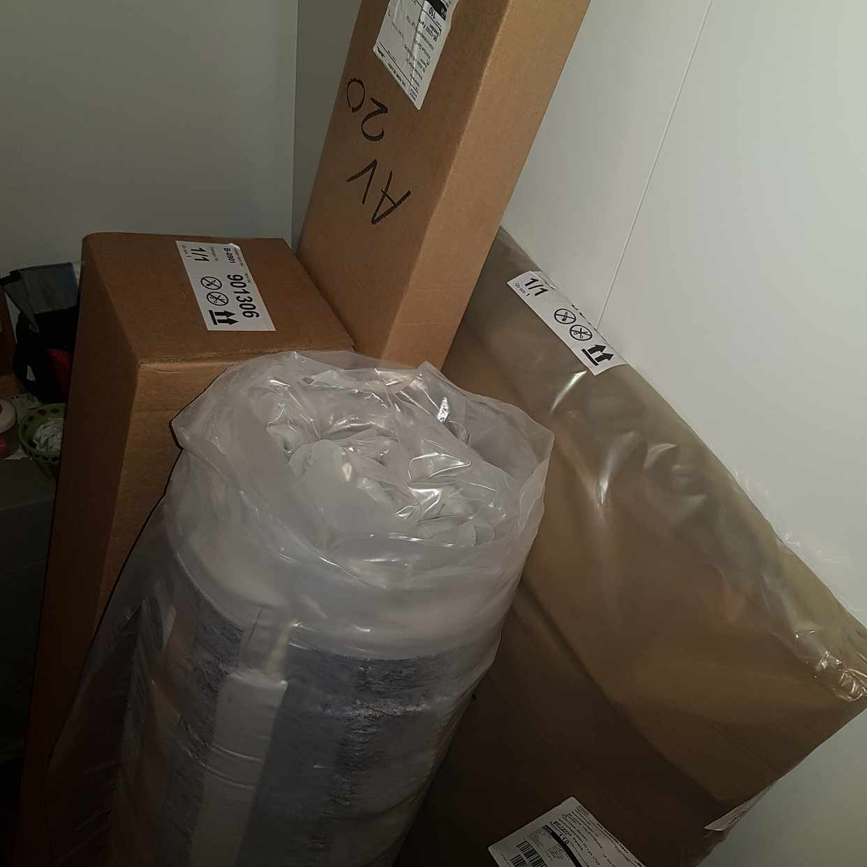 image of Flytta säng paket  -
