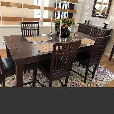 image of Bord och 8 stolar -