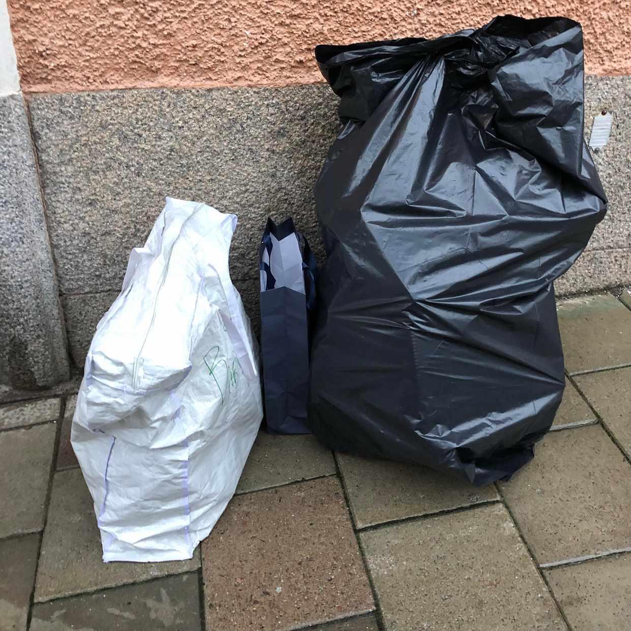 image of Kartonger, tomglas, mm - Stockholm