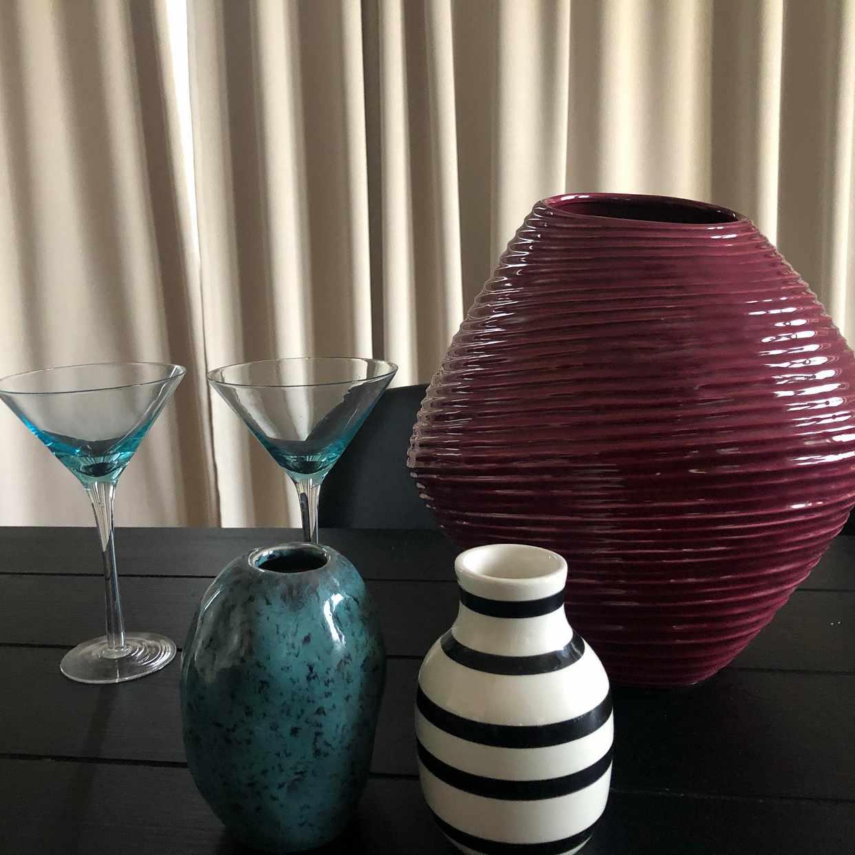 image of Vaser och drinkglas - Bromma