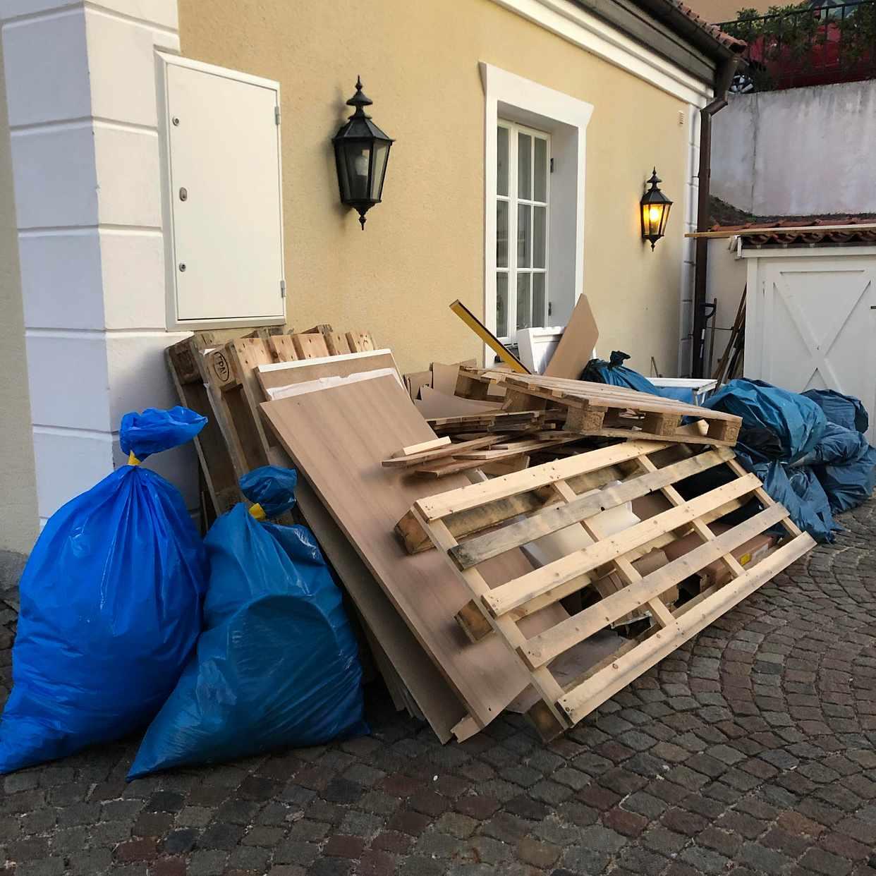 image of Emballage, säckarna - Hovås