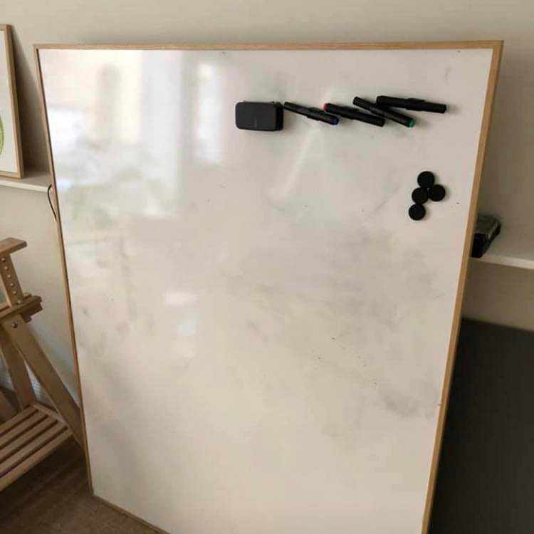 image of Whiteboard 120x150cm -