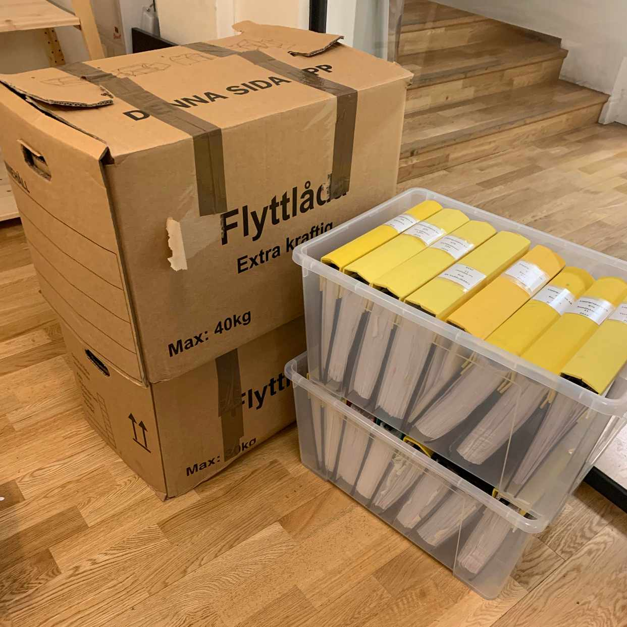image of Flytta prylar -