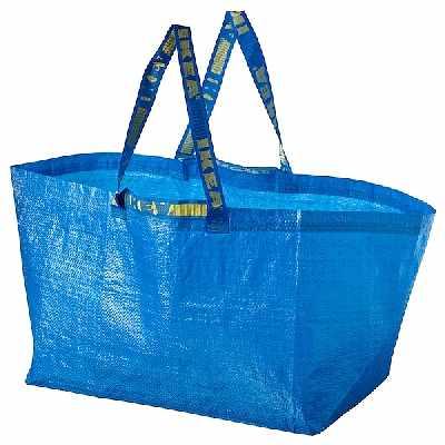 image of Hämtning av IKEA-påse -