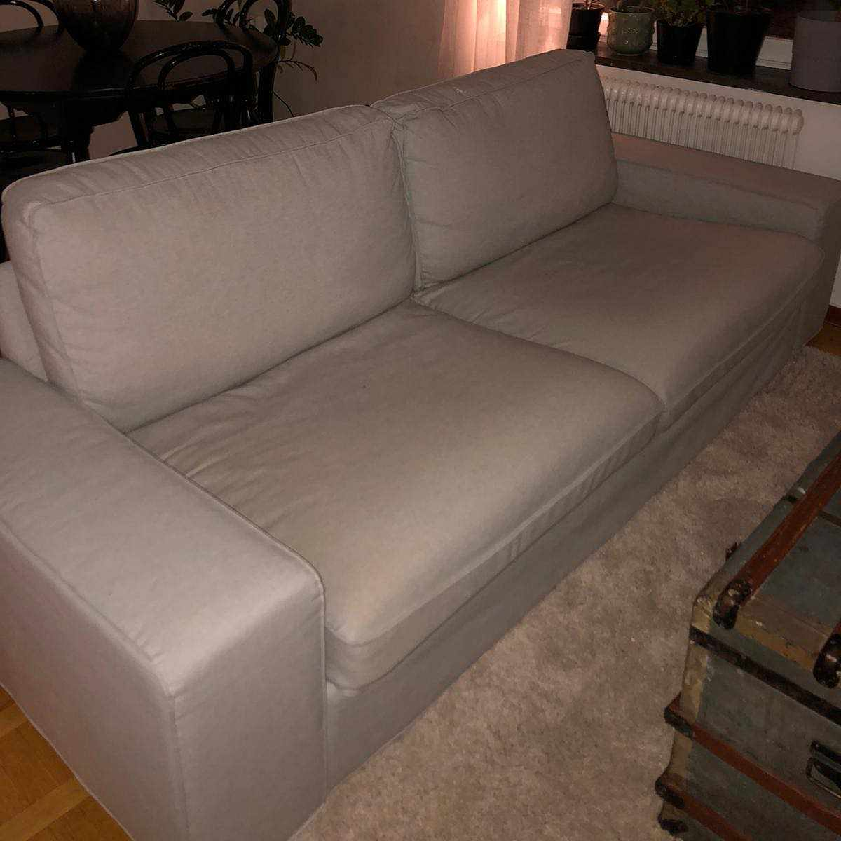 image of Två sits soffa -