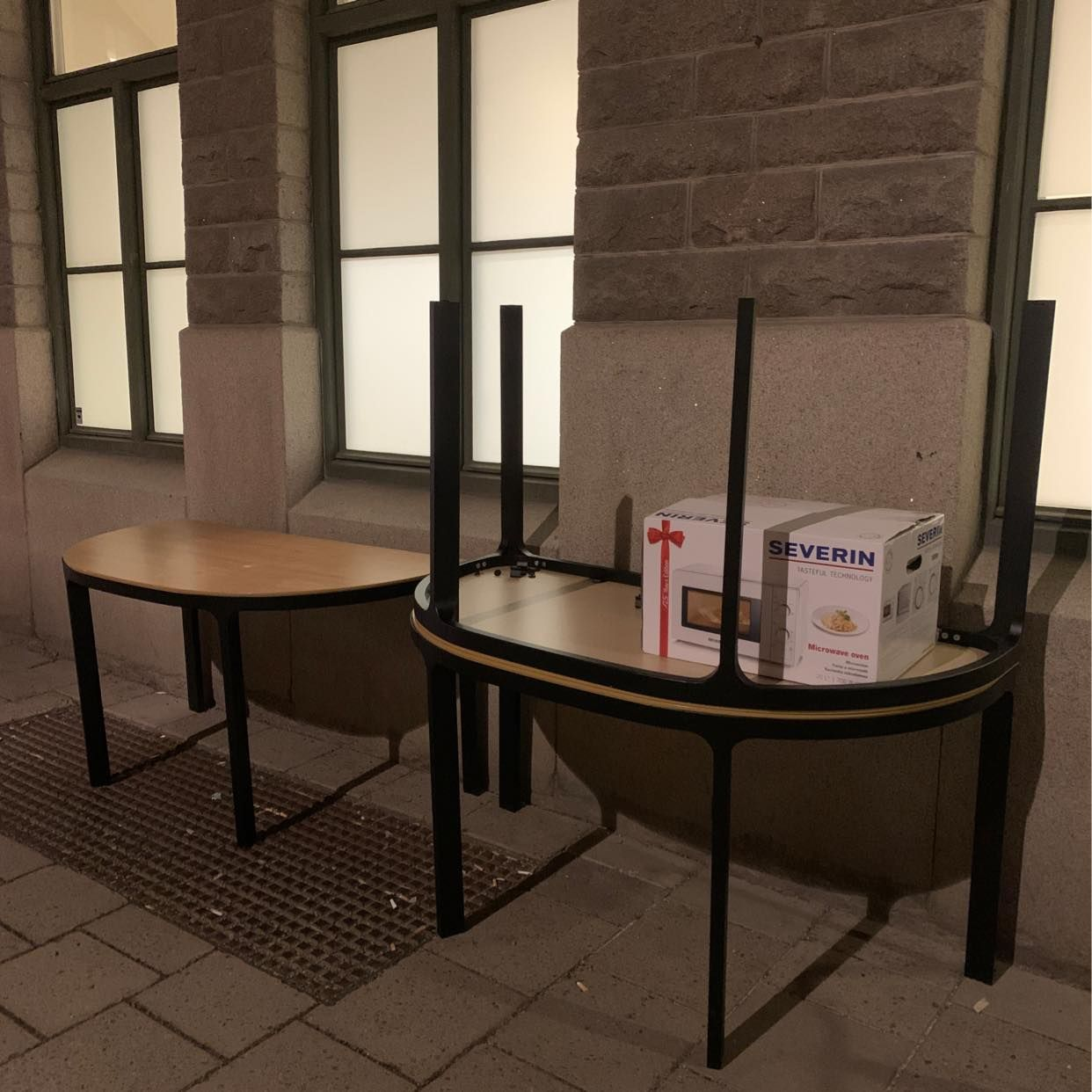 image of Three tables - Stockholm