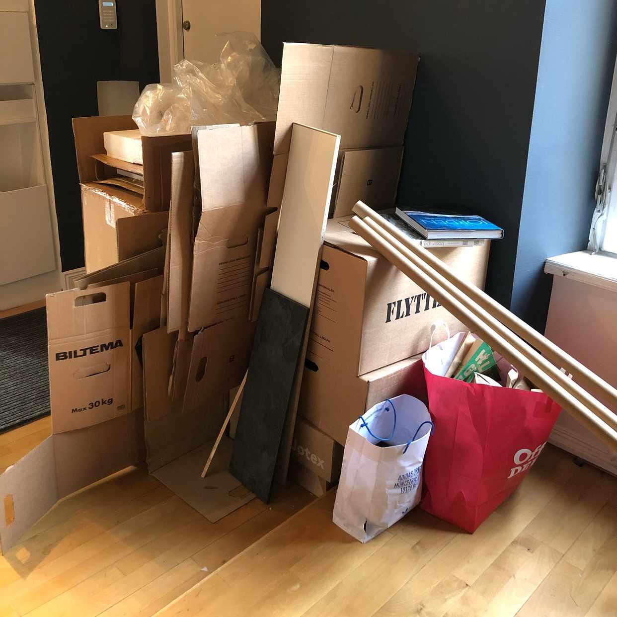 image of Emballage och skräp - Stockholms Stad
