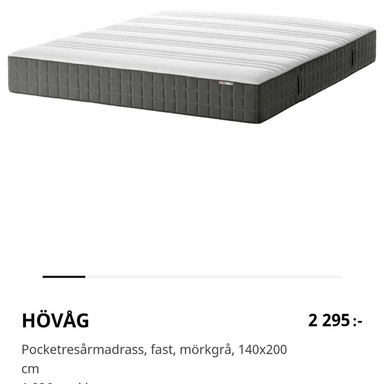 image of Säng 140x200 - Nacka