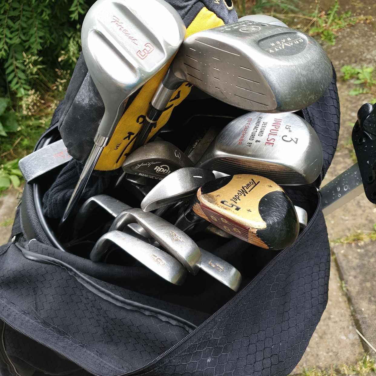 image of Golfklubbor + golfbag - Järfälla