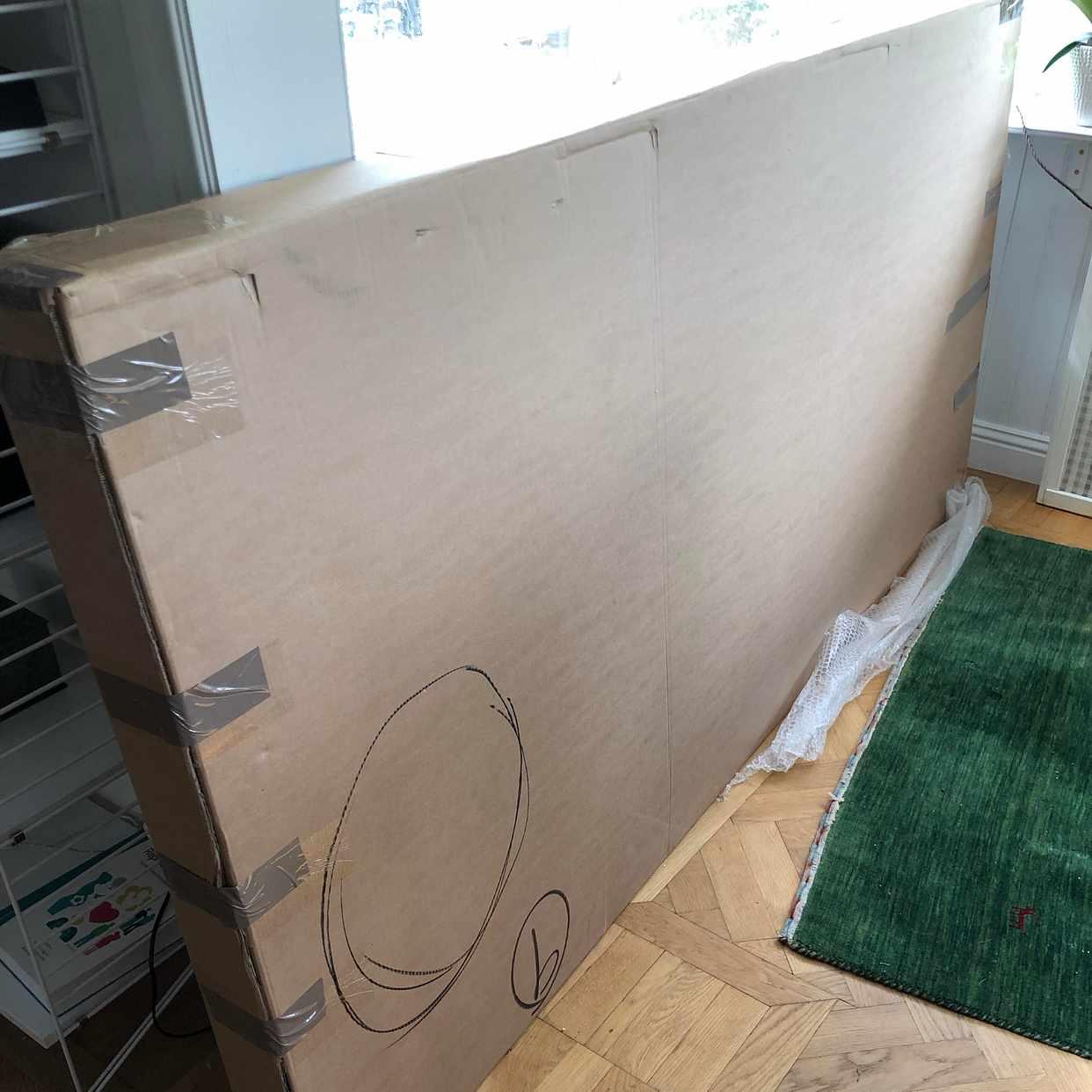image of Retur av bord, förpackat -