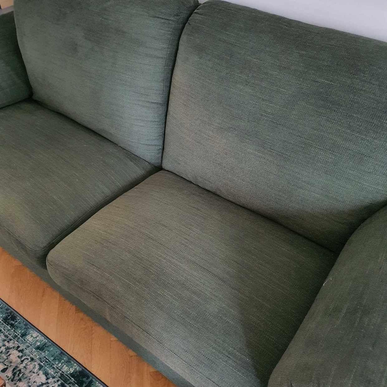 image of Grön soffa - Stockholm