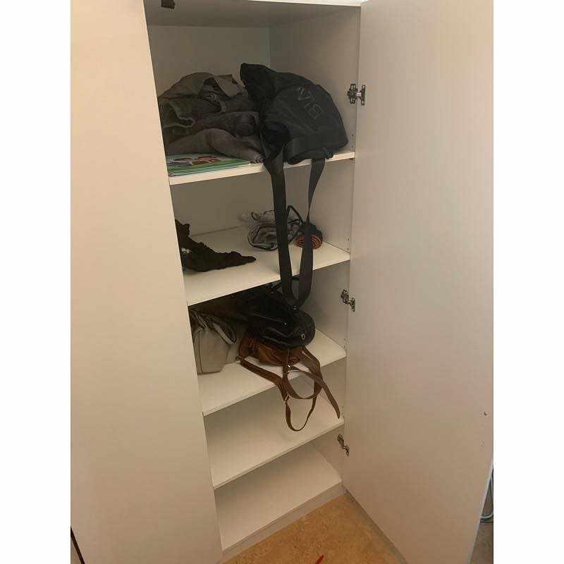 image of Garderob med 3 dörrar. - Bandhagen
