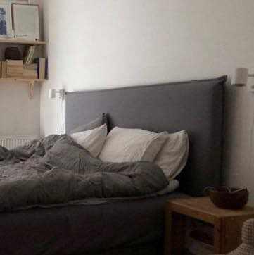 image of Hämta en sänggavel -