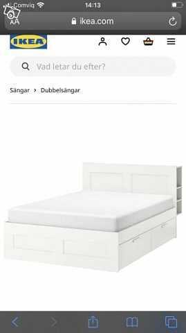 image of IKEA BRIMNES sängram -