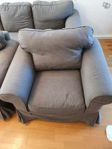 image of 3 Sits soffa+2 fåtöljer -