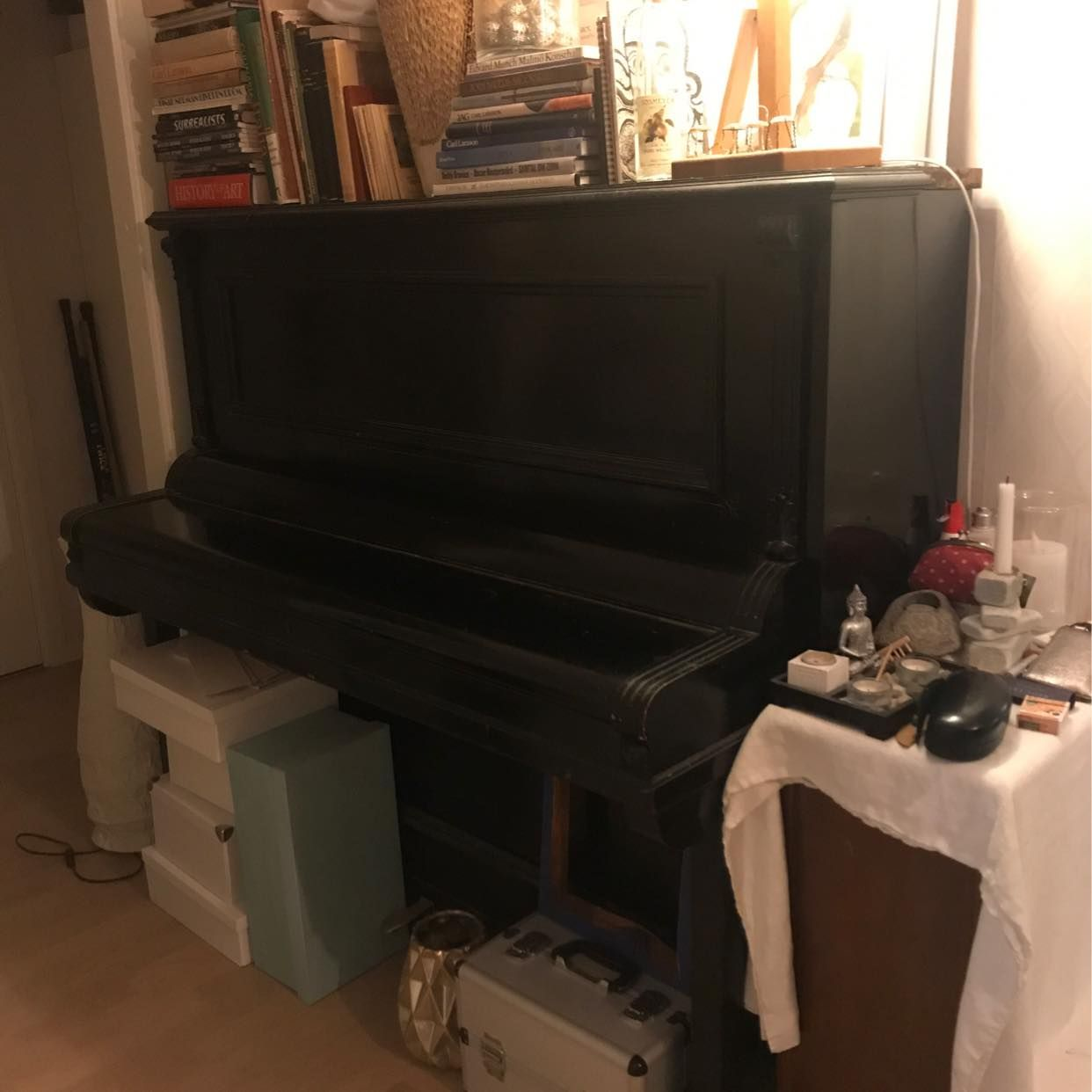 image of Köra piano till tippen. - Stockholms Stad