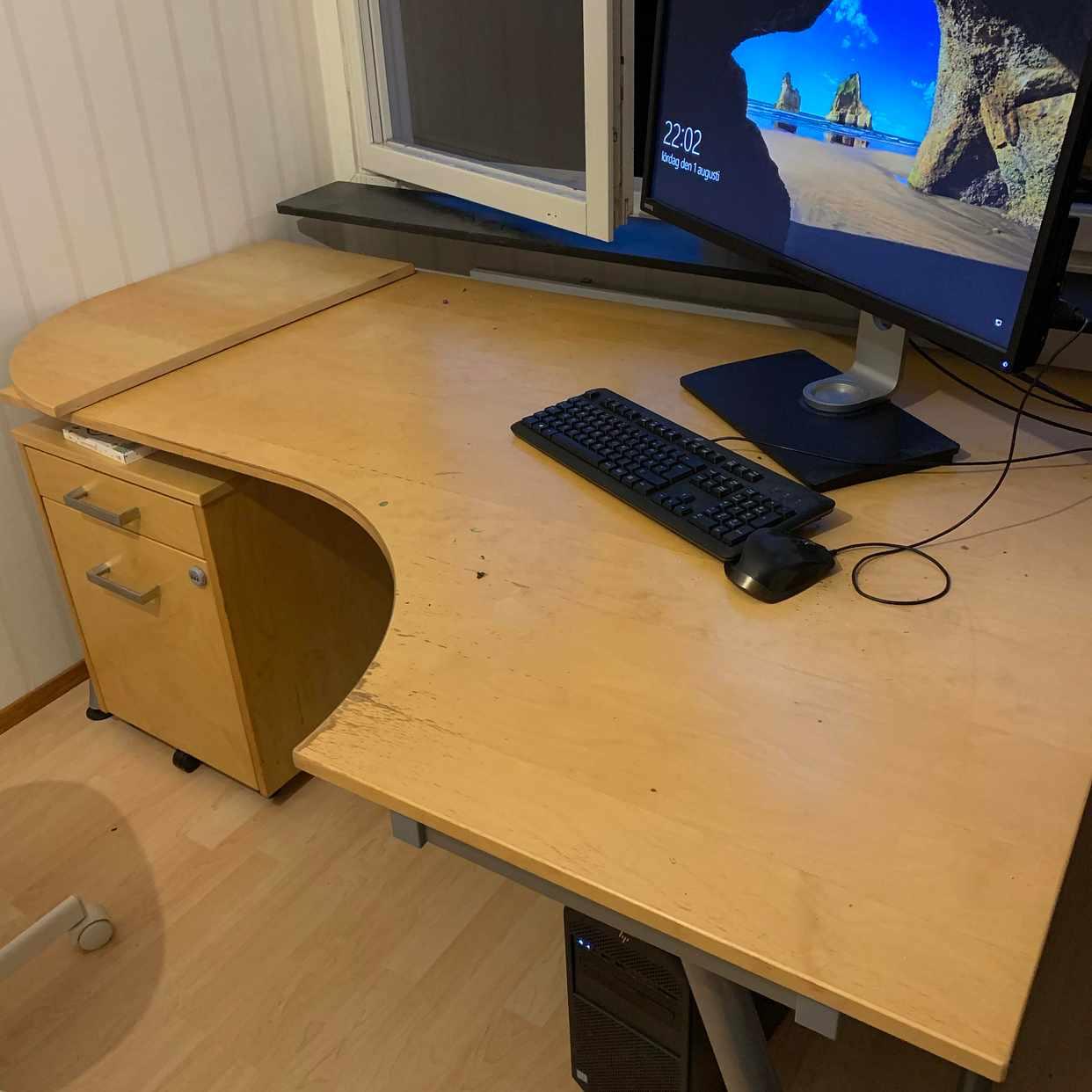 image of Skrivbord Ikea bortskänke - Hässelby