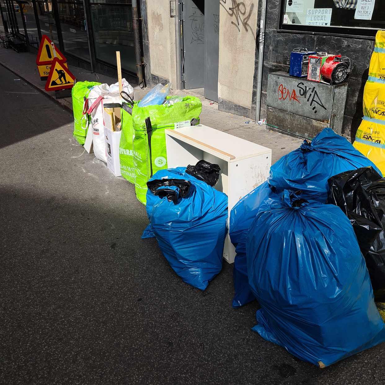 image of Blandat avfall - Stockholm