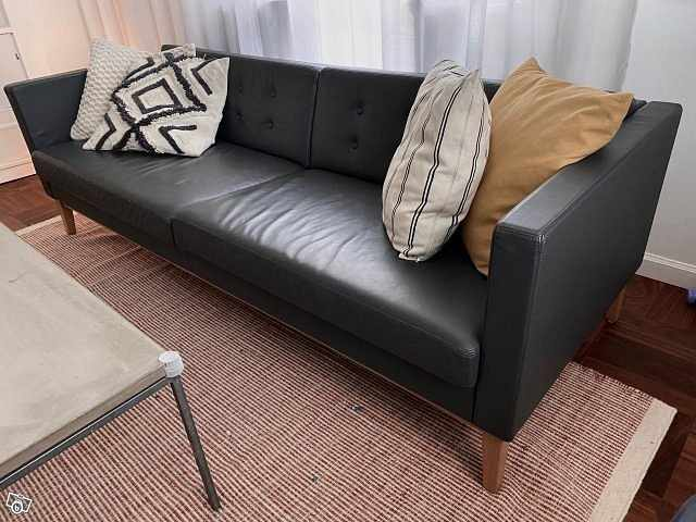 image of Swedese soffa skinn Madis -