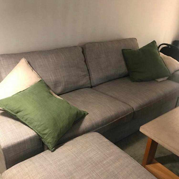 image of Flytta soffa  o fotpall -