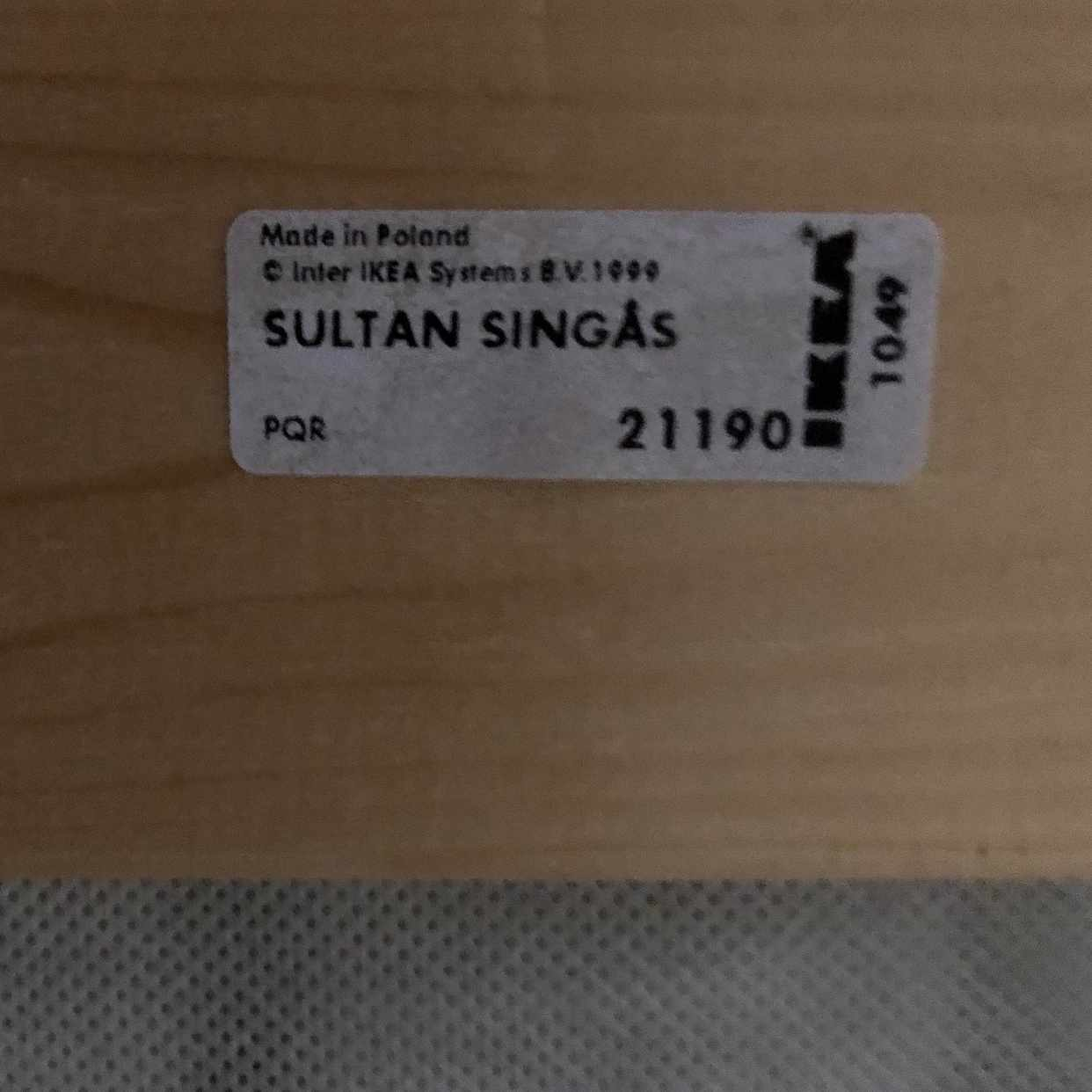 image of Säng Ikea Singås - Djursholm