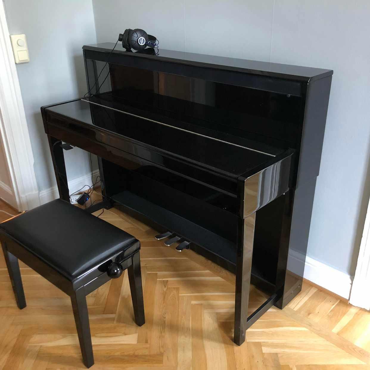 image of Litet piano, digitalt -