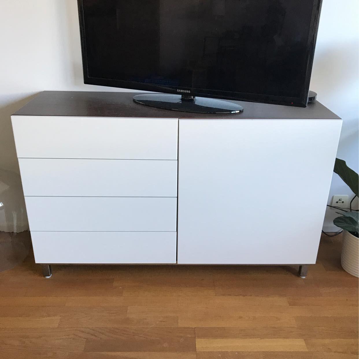 image of TV-Bänk/skåp bortskänkes - Göteborg