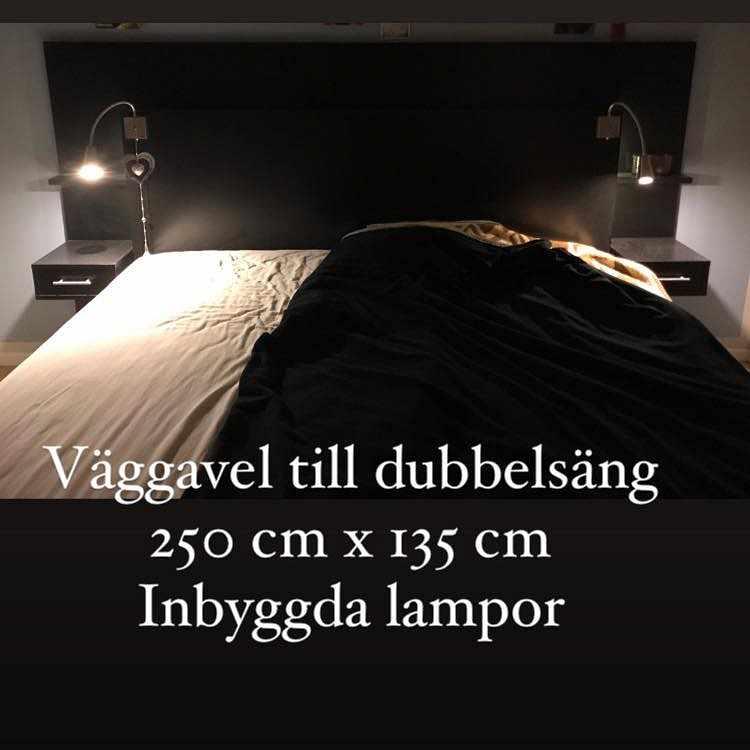image of Sänggavel till dubbelsäng - Farsta