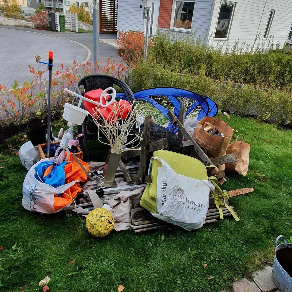 image of Blandat till återvinning - Steningehöjden