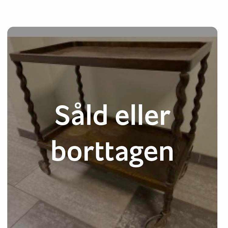image of Hämta en serveringsvagn -