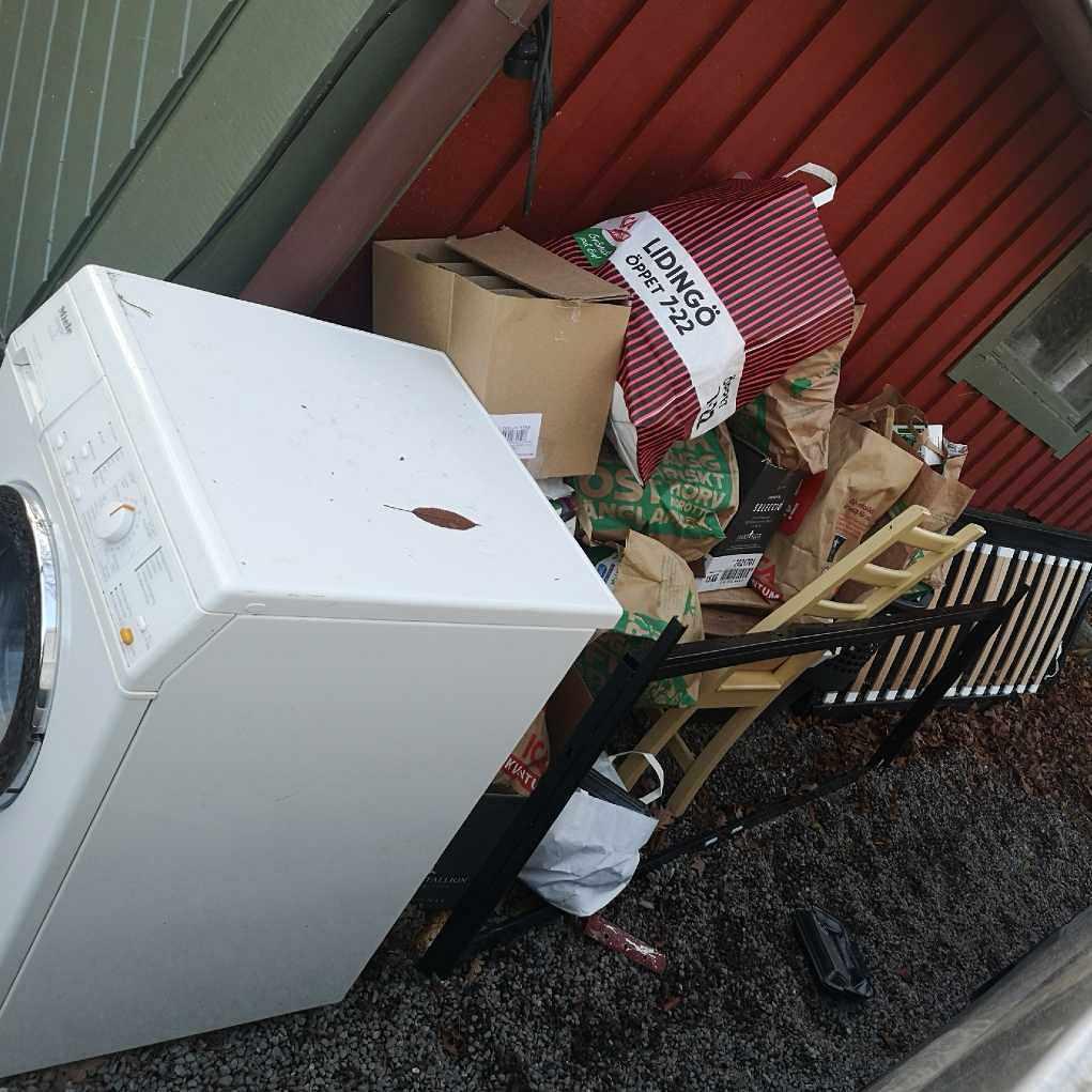 image of Pile of waste - Lidingö