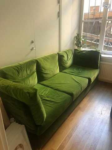 image of Grön soffa -