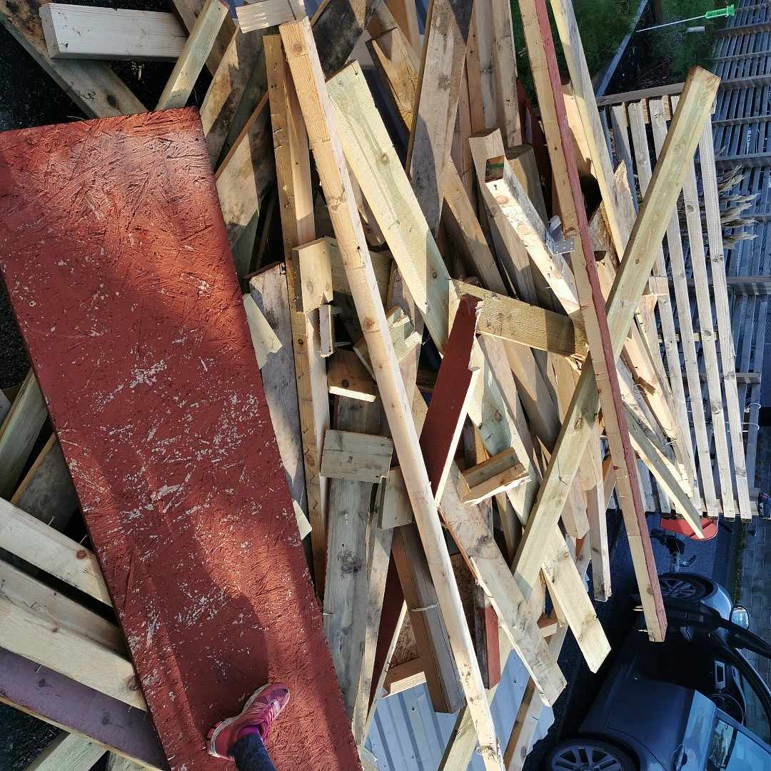 image of Wood from an old shed - Vallentuna