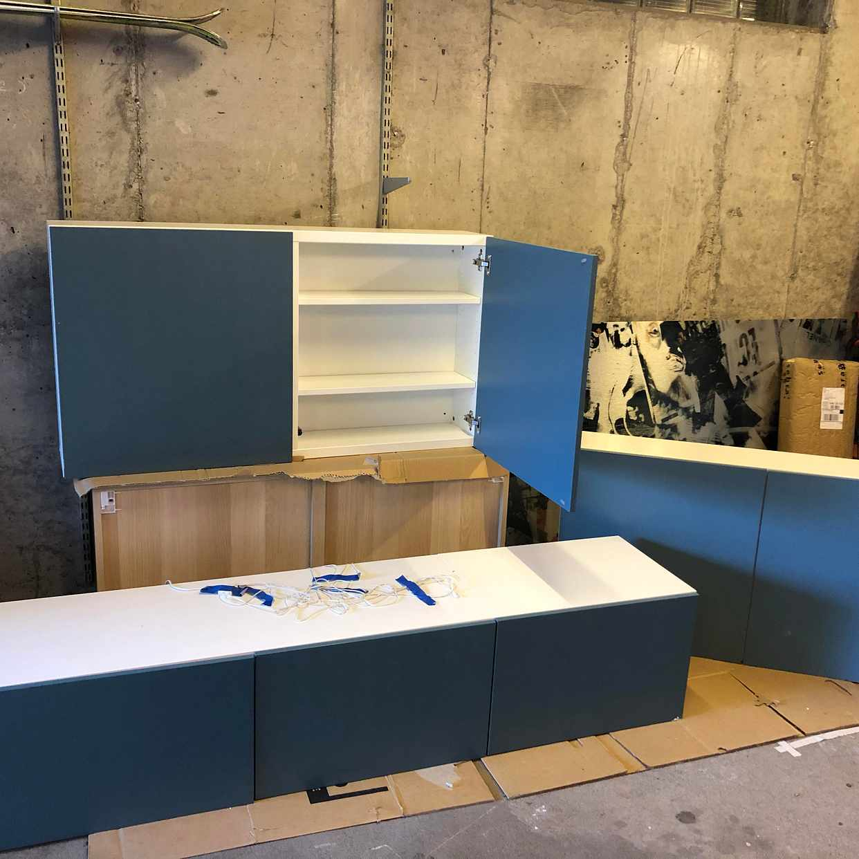 image of 3 IKEA-skåp, fint skick - Lidingö