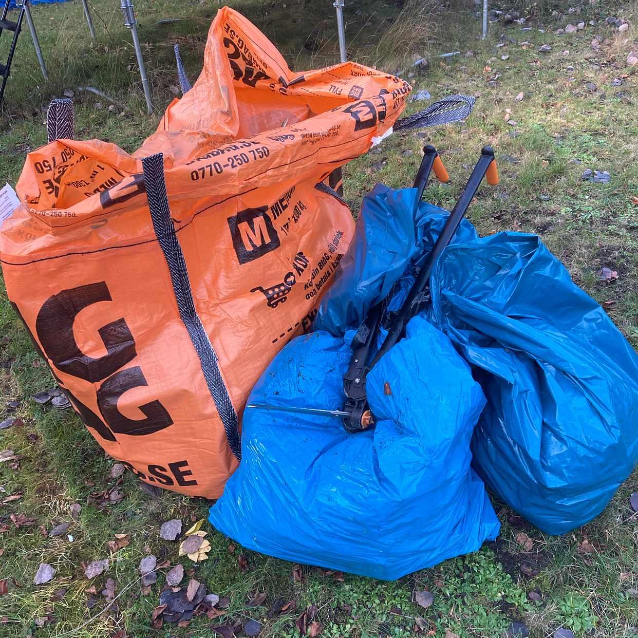 image of Blandat avfall - Skarpnäck