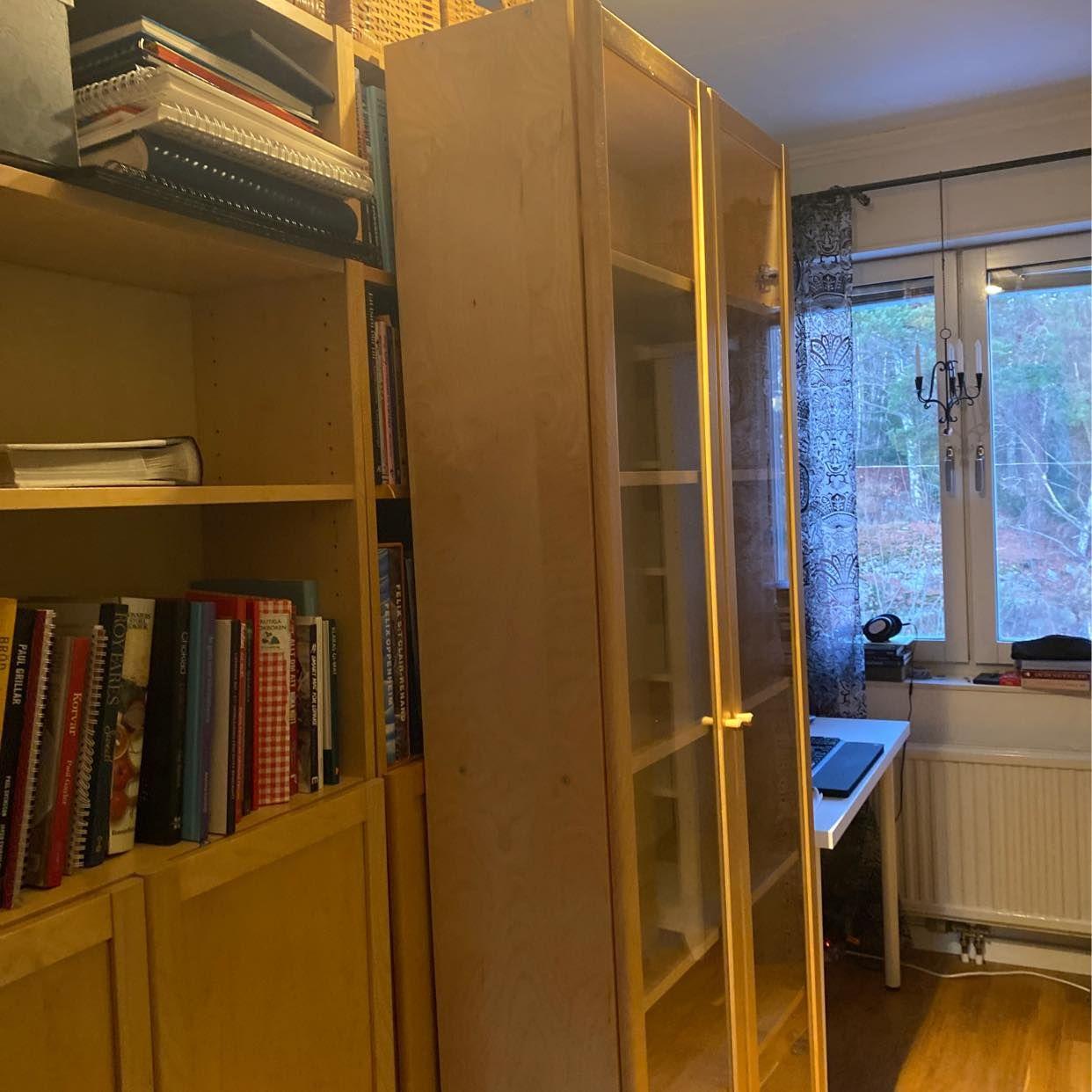 image of Bortskänkes Billy hylla - Trångsund
