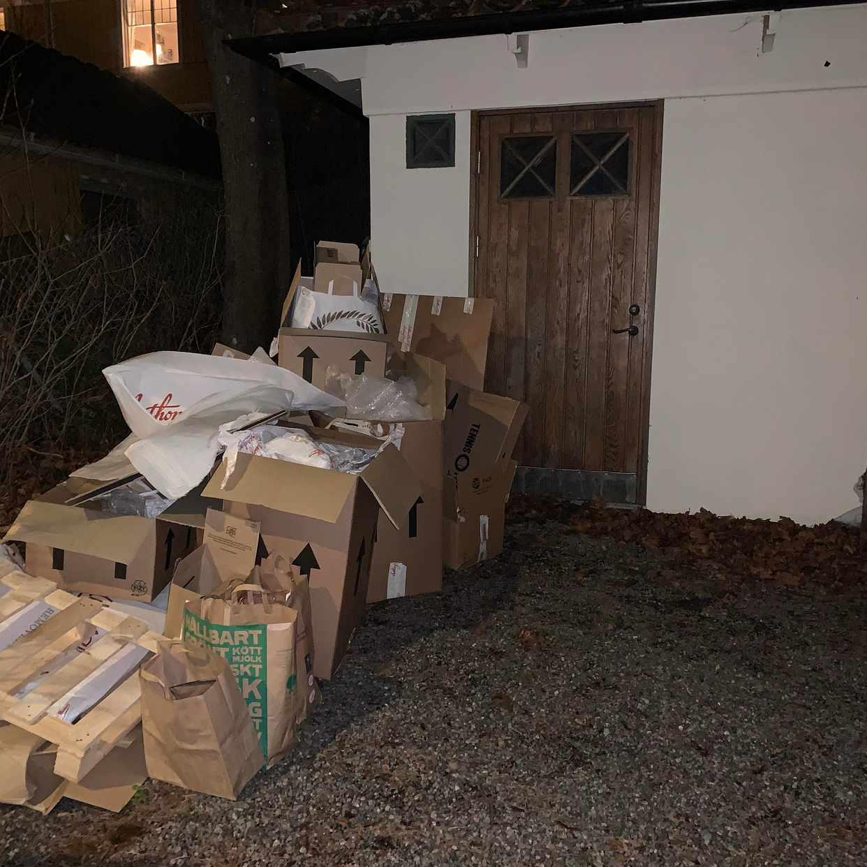 image of Cardboards - Lidingö
