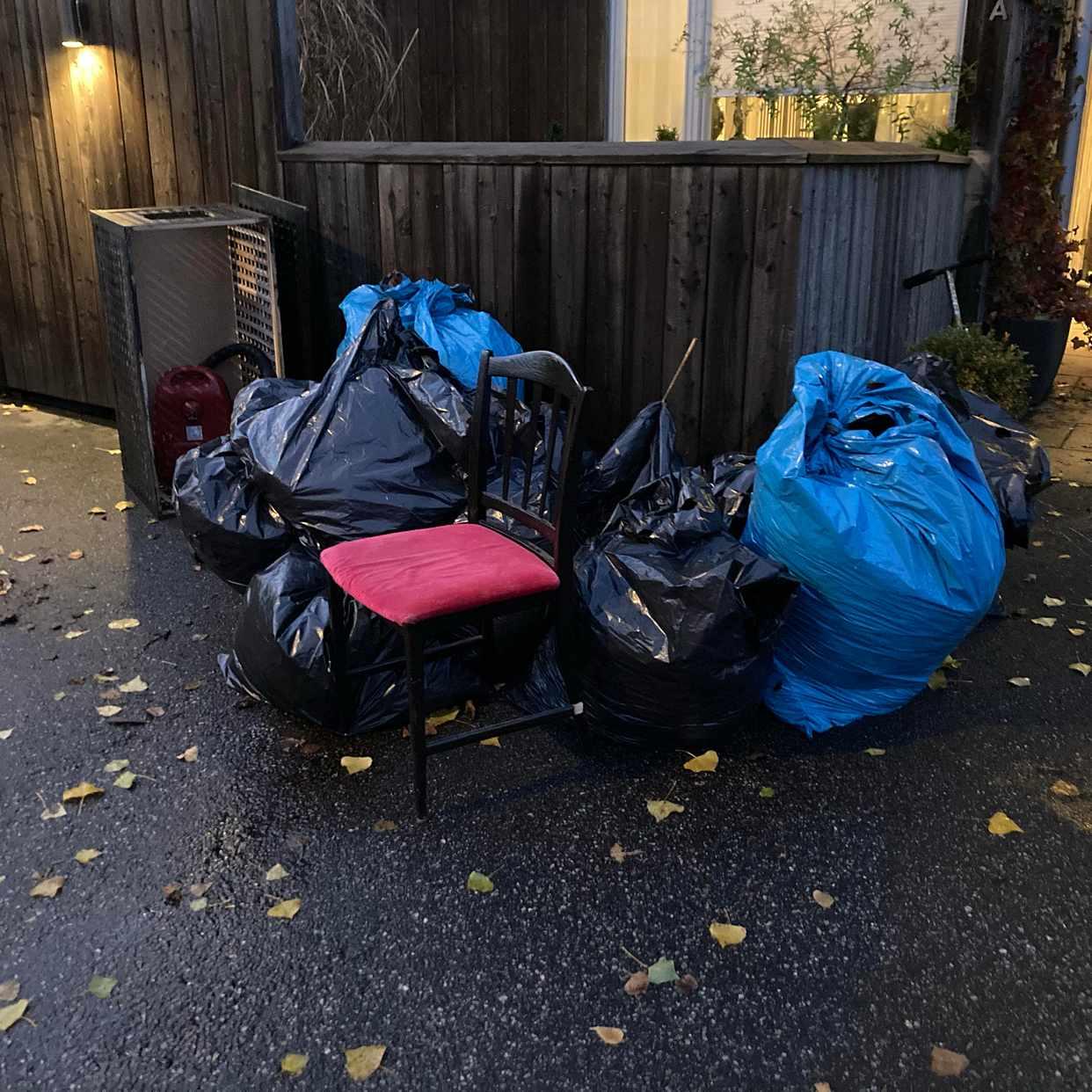 image of Trädgårdsavfall och grovs - Hägersten