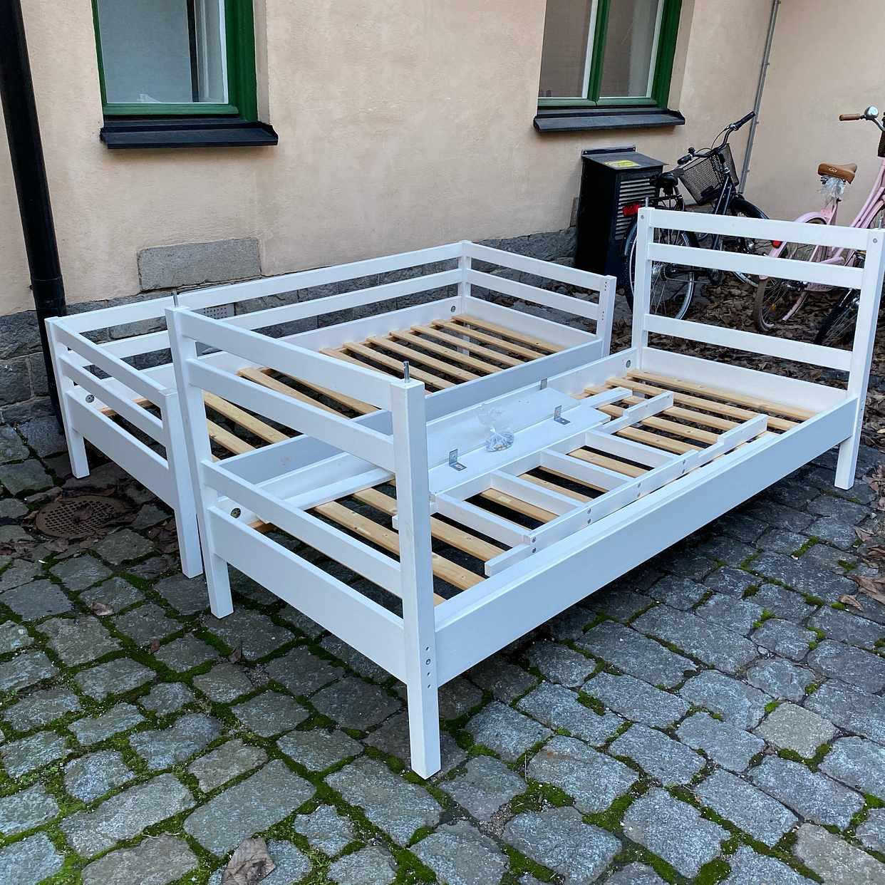 image of Transportera våningssäng -