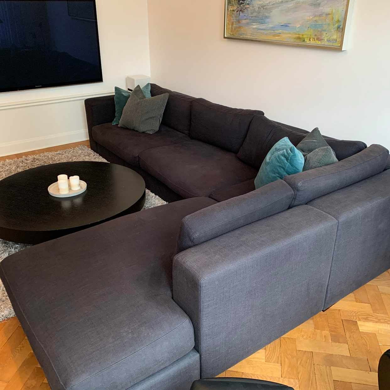 image of Soffa mm skänkes - Stockholm